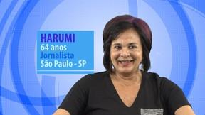 Harumi (Foto: Globo / Divulgação)