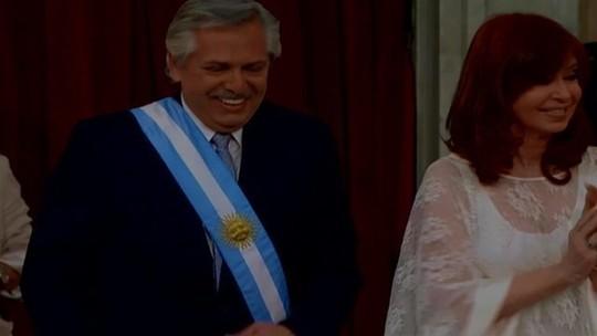 Alberto Fernández toma posse como presidente