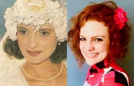 Maria Eduarda de Carvalho vive Olga, irmã de Lola. Na última versão da novela, o papel foi de Denise Fraga Reprodução / Divulgação