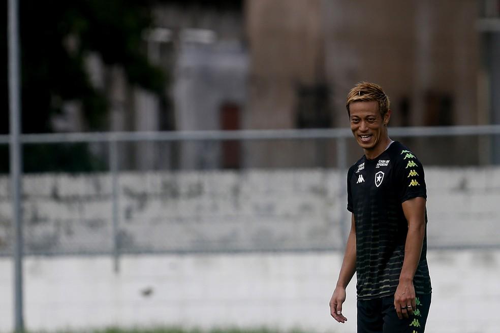 Honda está regularizado e estreia deve ser definida na próxima quinta-feira — Foto: Vitor Silva/Botafogo