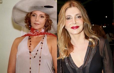 Maria Padilha interpretou Dinorá, mulher de Cornélio (Ney Latorraca) e irmã de Heitor (Rodrigo Faro). O último trabalho da atriz na TV foi em 'A regra do jogo' NELSON DI RAGO / Marcos Ramos