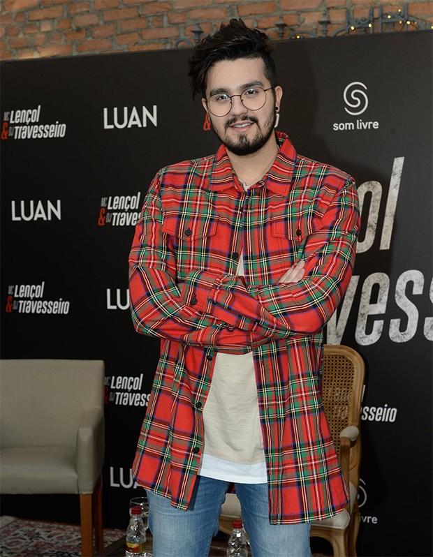 Luan Santana (Foto: Francisco Cepeda/AgNews)