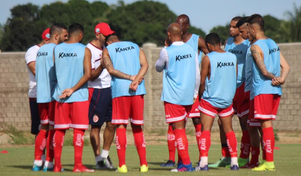 América-RN corre atrás de um camisa 9 para fechar equipe para o início da Série D (Foto: Diego Simonetti/ Blog do Major)