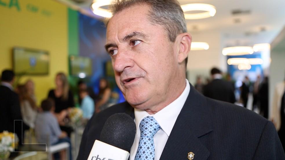 Francisco Novelletto, presidente da Federação Gaúcha  — Foto: Divulgação/CBF