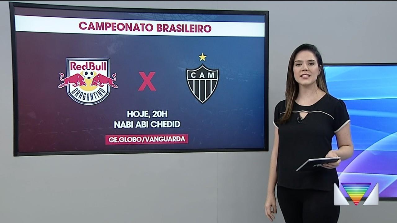 Bragantino enfrenta o Atlético-MG em casa