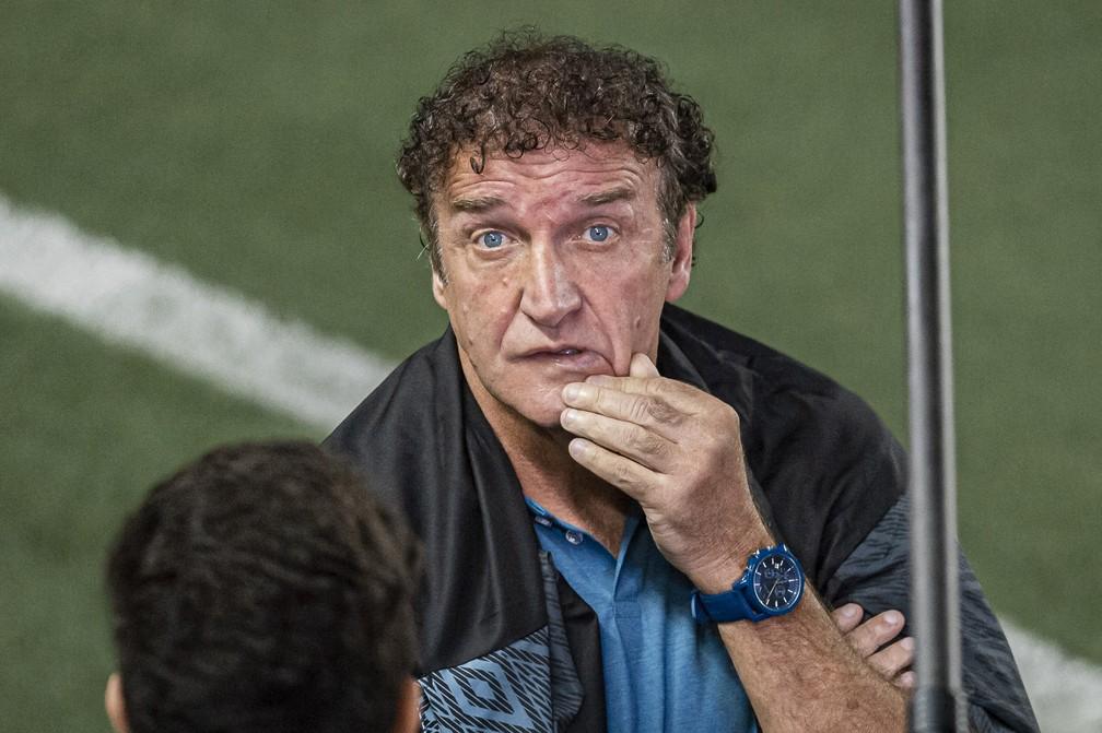 Cuca não teve peças importantes nesta quarta-feira — Foto: Anderson Lira / Estadão Conteúdo
