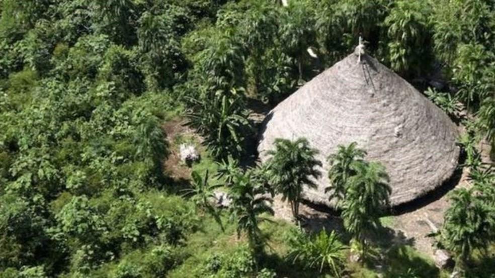Etnias com pouco contato com a sociedade não indígena envolvente, como os suruwahá (foto), podem ser especialmente vulneráveis a doenças respiratórias — Foto: Funai