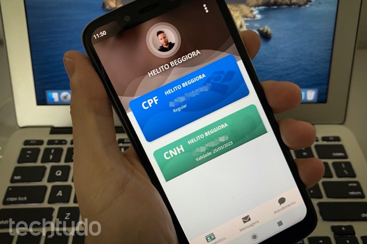 Como consultar CPF e emitir o documento digital no celular