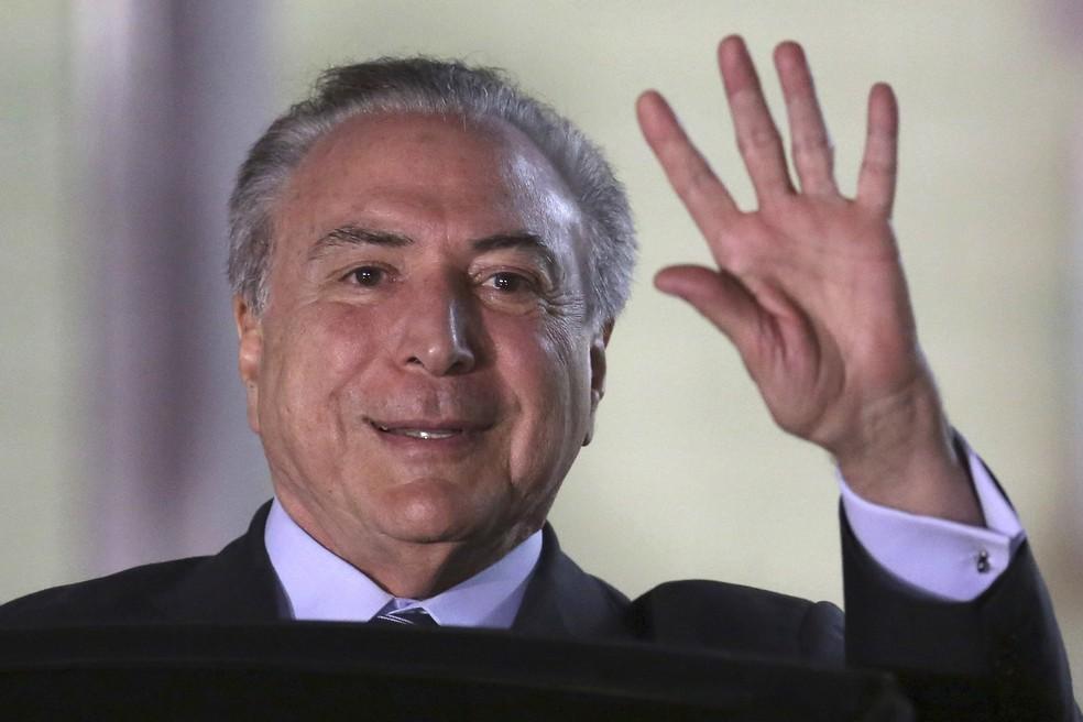 O presidente Michel Temer (Foto: Eraldo Peres/AP)