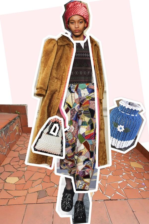 Diz aí: misturando as principais tendências de Paris, Milão, Londres e Nova York, não dá pra notar que a sua avó é a grande fashionista da vez? (Foto: Imaxtree)
