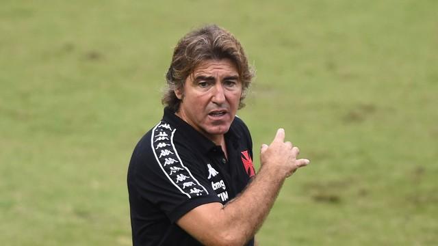 Ricardo Sá Pinto em Vasco x Palmeiras