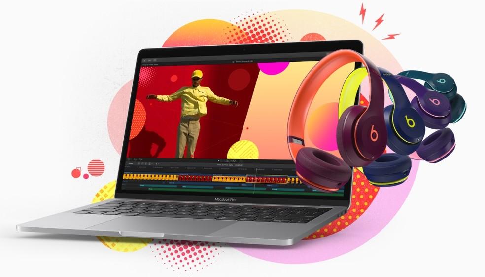 Promoção da Apple oferece até R$ 2.149 de desconto em fones da Beat — Foto: Divulgação/Apple