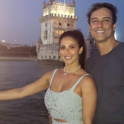 Marcello Antony com a mulher (Foto: Reprodução Instagram)