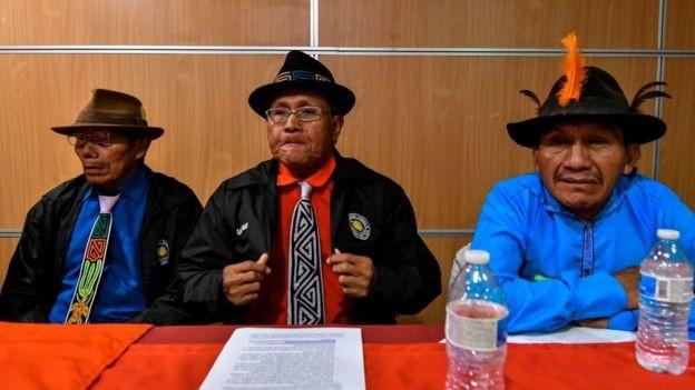 Os representantes da comunidade Guna disseram que vão atrás de uma compensação financeira (Foto: GETTY IMAGES)