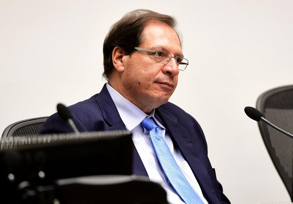 Ministro Luis Felipe Salomão durante sessão do Superior Tribunal de Justiça (STJ)  — Foto: Emerson Leal/STJ