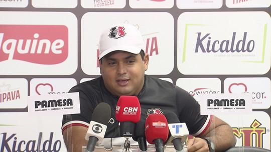 Leston Júnior confirma retorno de Pipico ao Santa Cruz contra Afogados-PE