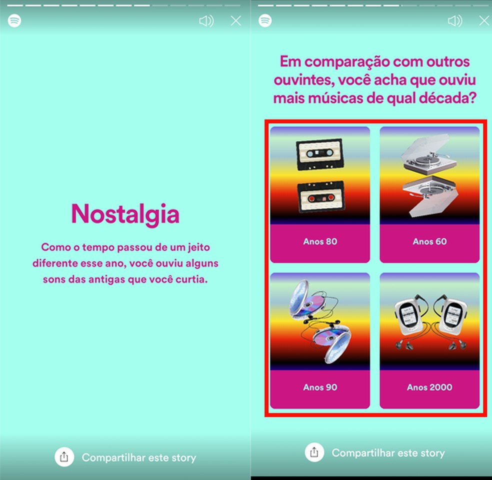 Spotify Retrospective 2020 porta domande di curiosità - Foto: Riproduzione / TechTudo