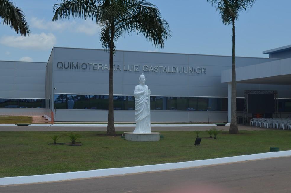 Hospital de Câncer da Amazônia em Porto Velho (Foto: Jonatas Boni/G1)