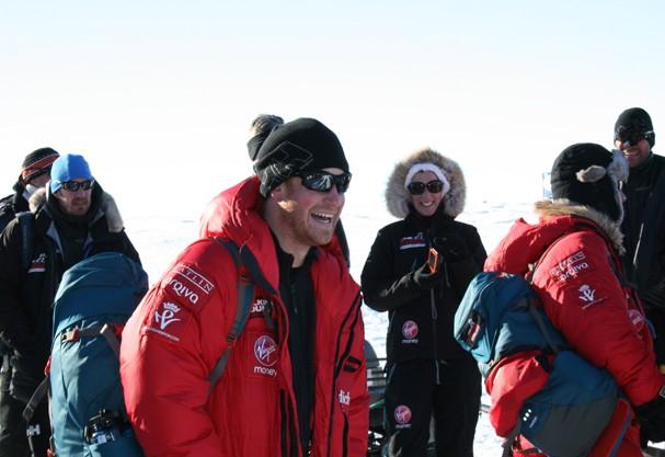 Príncipe Harry na Antártida (Foto: Getty Images)