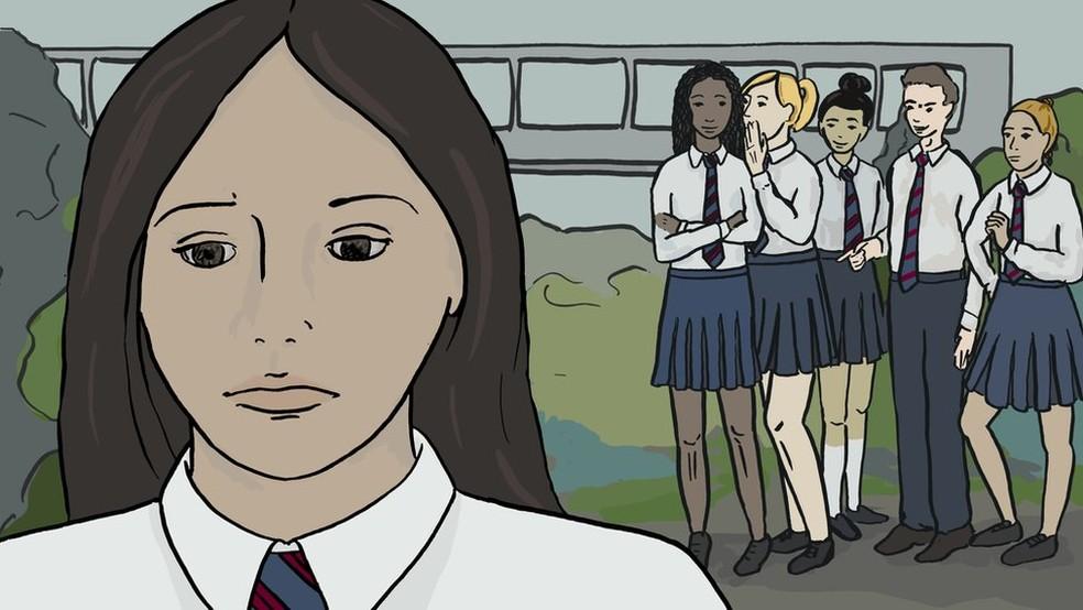 Para Grace, a escola é uma luta; jovem está tentando continuar a ir, mas não vê a hora de terminar. (Foto: Emma Russell )