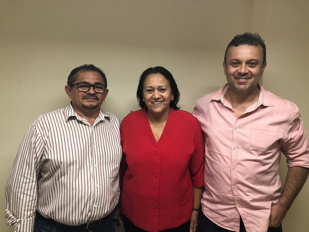 Fátima Bezerra (PT) anuncia nomes para Fundação José Augusto e Secretaria de Desenvolvimento Rural do RN — Foto: Divulgação