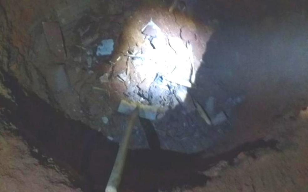 Delegado não tem dúvida que o corpo encontrado em fossa é de Letícia Helena (Foto: Polícia Civil/ Divulgação)