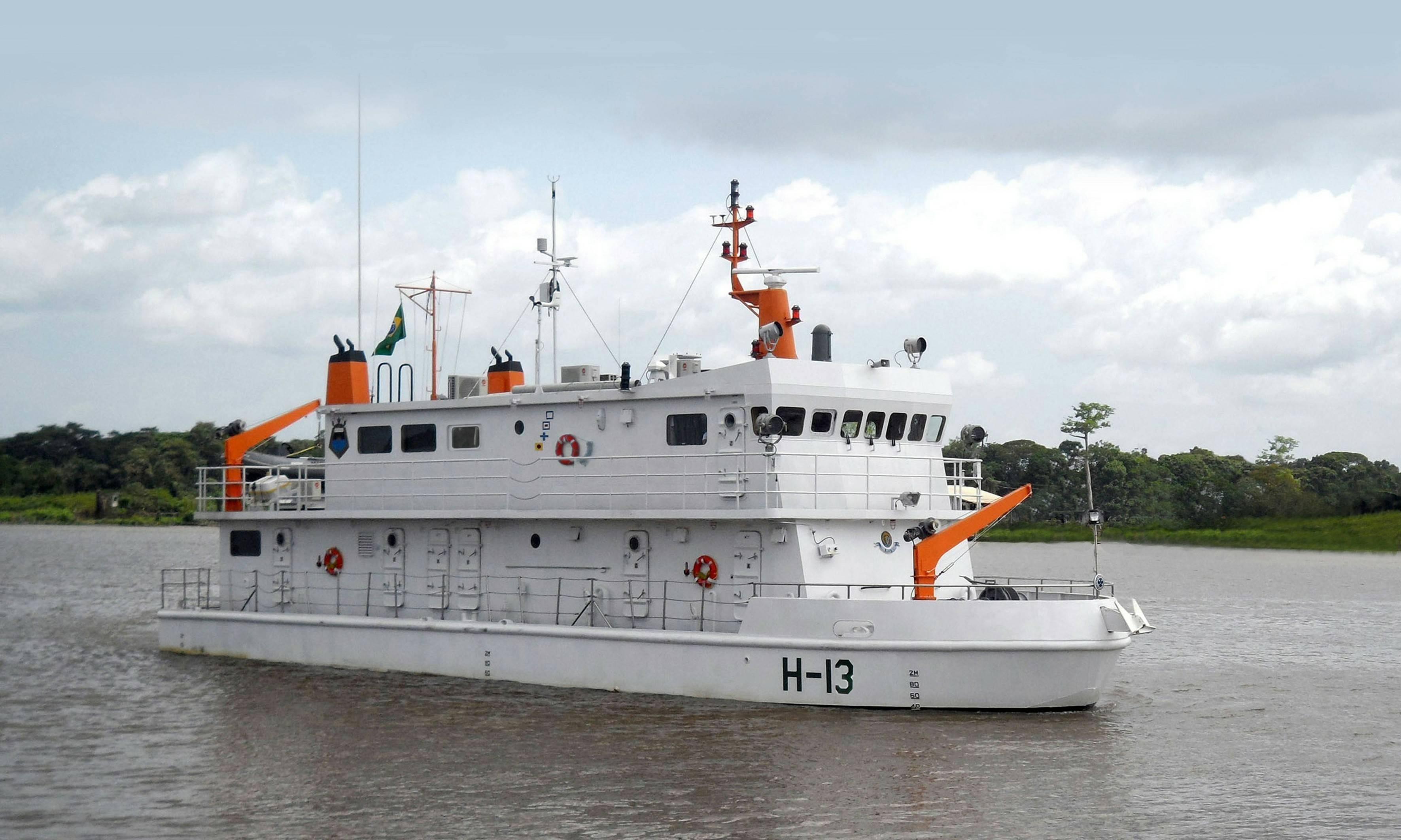 Dois navios da Marinha abrem para visitação guiada por quatro dias no Amapá - Noticias