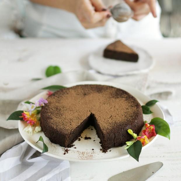 A torta de chocolate mais saudável do mundo (Foto: Divulgação)