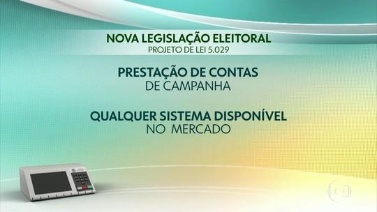 Relator faz 3 alterações em projeto sobre prestação de contas dos partidos