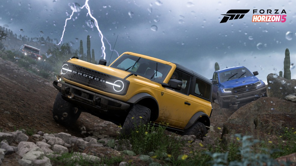 Forza Horizon 5 contará com mais carros que as edições anteriores da franquia — Foto: Divulgação/Playground Games