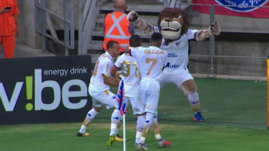 Os gols de Fortaleza 2 x 0 Vila Nova pela 28ª rodada da Série B 2018