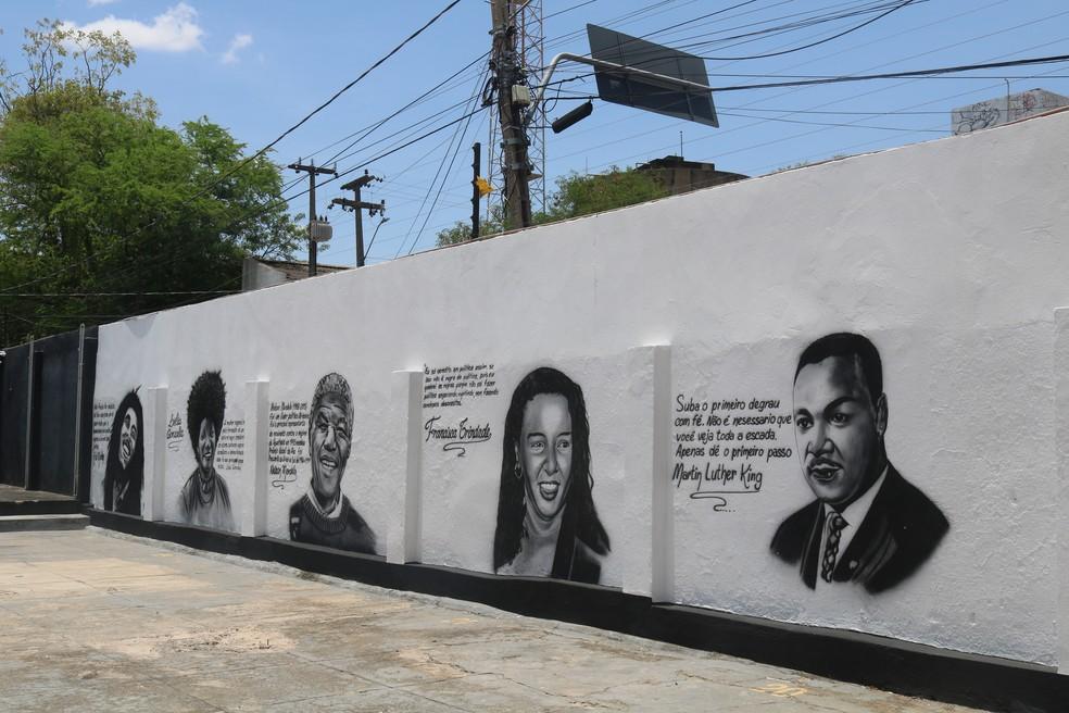 Memorial Esperança Garcia, em Teresina — Foto: Ilanna Serena/g1