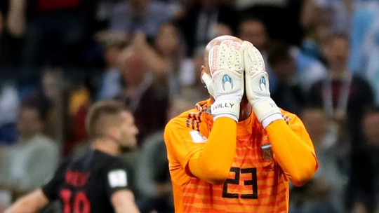 Golaço, gol de pelada... Teve de tudo em  Argentina 0 x 3 Croácia; assista