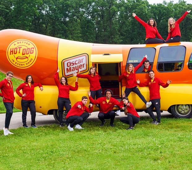 Empresa de hot dogs contrata pessoas para viajar pelos Estados Unidos (Foto: Twitter/ Reprodução)