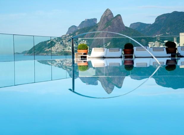 Cobertura do hotel Fasano, no Rio de Janeiro (Foto: Reprodução)