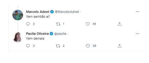 Paolla Oliveira responde a seguidor no Instagram (Foto: Reprodução/Instagram)