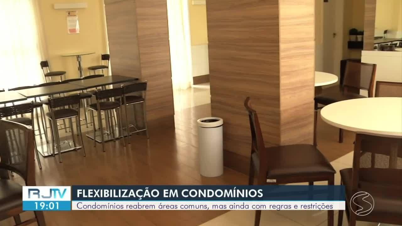 Condomínios reabrem áreas comuns seguindo medidas restritivas