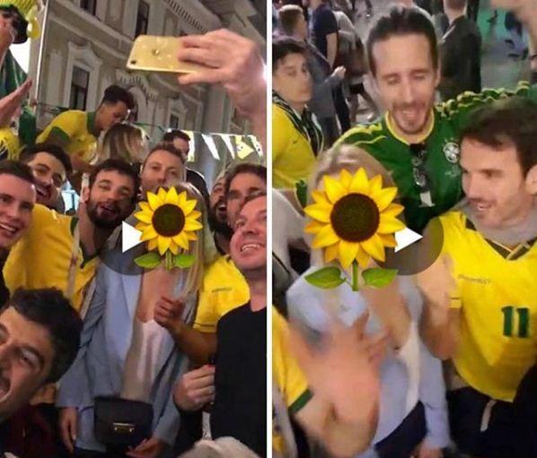 Frame do vídeo machista feito por brasileiros (Foto: Reprodução Instagram)