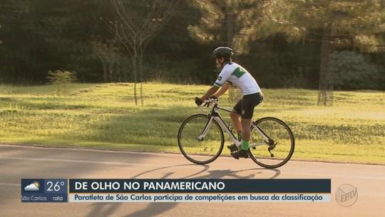 Paratleta de São Carlos compete em busca de classificação para os Jogos Pan-americanos