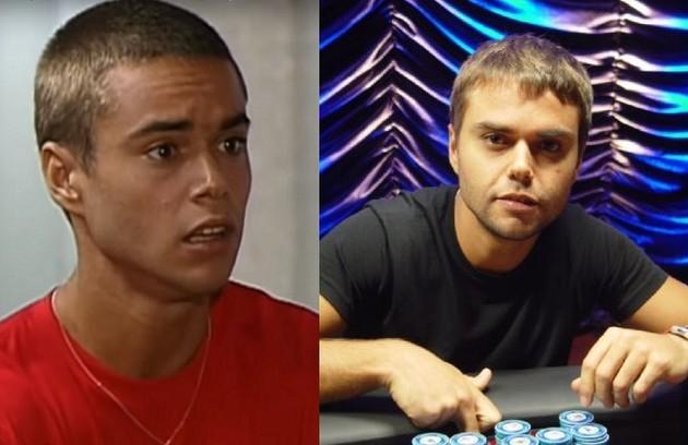Longe da TV desde uma participação em 'Alto astral', de 2014, Java Mayan foi o João por três anos em 'Malhação'. Hoje, ele é jogador de poker profissional (Foto: Reprodução)