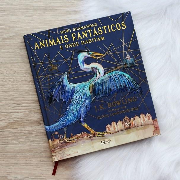 Livro Animais Fantásticos e Onde Habitam (Edição Ilustrada), da Rocco (Foto: Reprodução/Instagram)