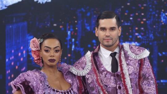 'Dança dos Famosos': Dandara Mariana fica em primeiro no ranking, e Junior Cigano é eliminado