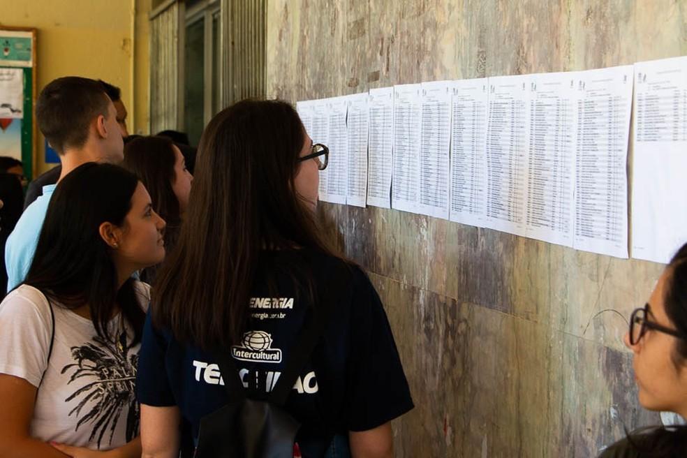 Resultado do Vestibular UFSC/UFFS 2020 é divulgado nesta sexta-feira — Foto: Pipo Quint/ UFSC