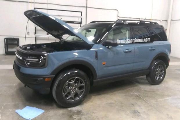 Ford Bronco Sport teve visual e nome revelados em fórum (Foto: fordbroncosport.com/Reprodução)