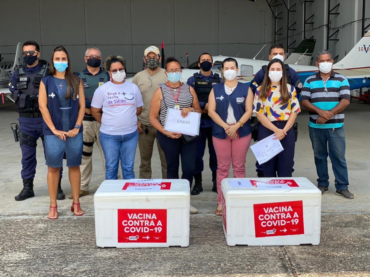 Maranhão recebe mais de 190 mil doses de vacinas contra a Covid-19