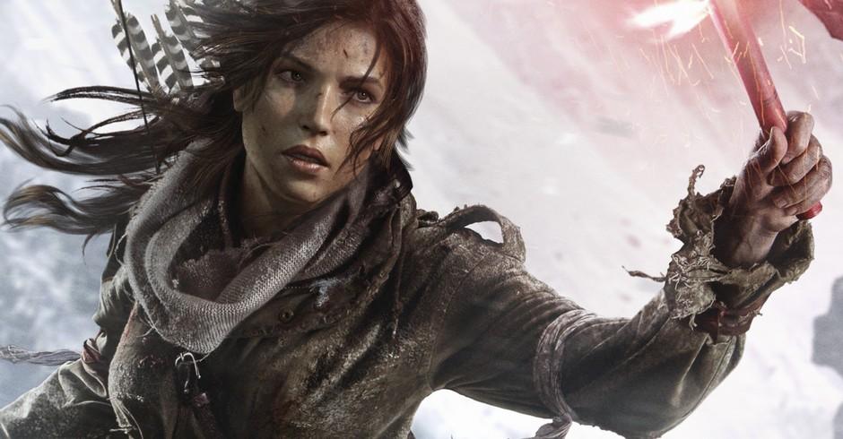 Personagem Lara Croft. Cena do game The Rise of Tom Raider (2013) (Foto: Divulgação)