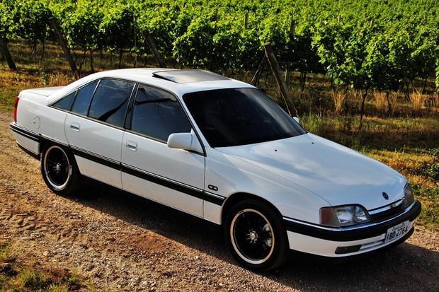 Esse Chevrolet Omega CD 3.0 é dos mais raros (Foto: André Jacquillat/Divulgação)