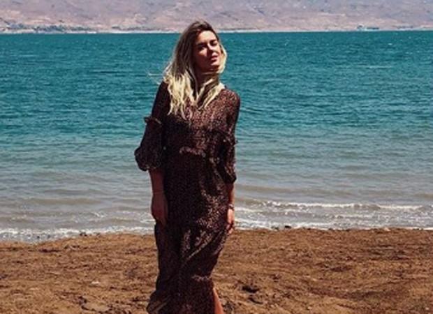 Carolina Dieckmann se despede de Jerusalém, em Israel (Foto: Reprodução/Instagram)