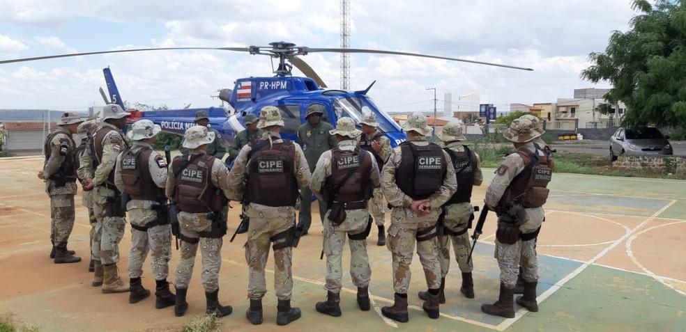 Operação aconteceu no sábado (7), na cidade de Mulungu do Morro — Foto: Divulgação/SSP-BA