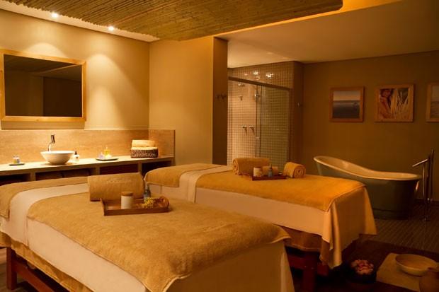 O pacote de esfoliação + massagem é uma opção de presente do spa L'Occitane (Foto: Divulgação)